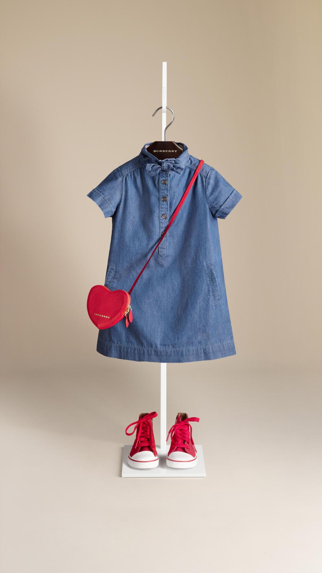 Burberry childrenswear British elegance for spring summer 2014