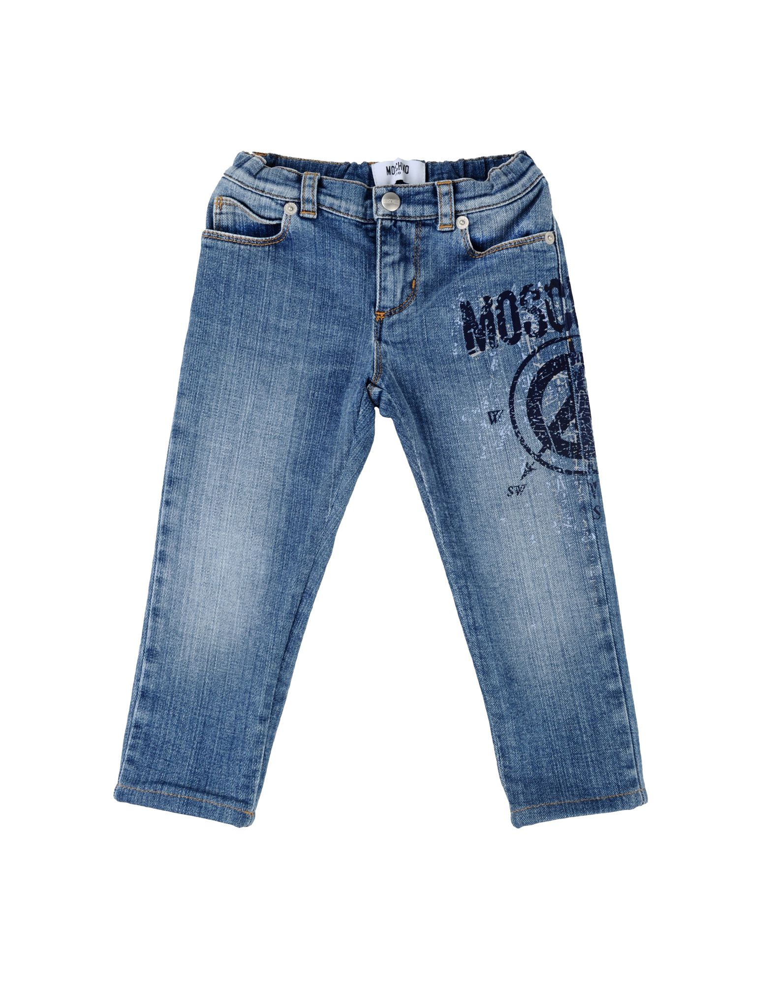 Moschino denim trousers for kids