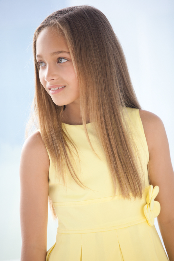 "Elsy Spring Summer 2014 ""Lidia"" yellow dress"