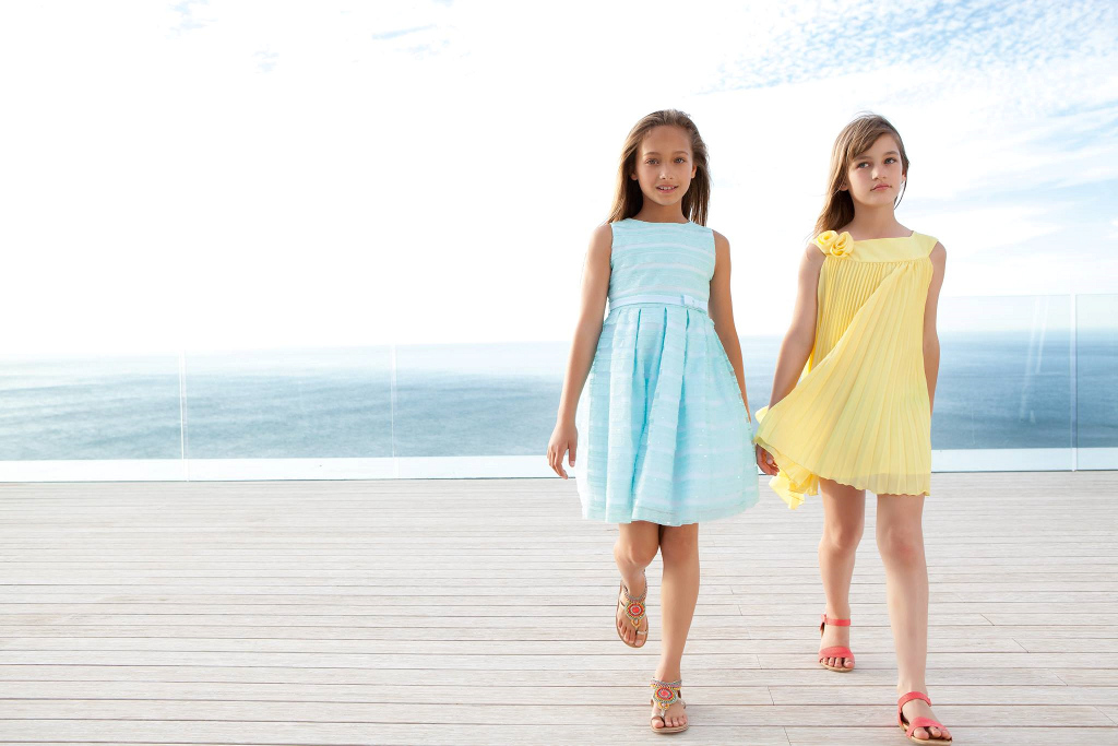 "Elsy Spring Summer 2014 ""Annachiara"" yellow dress"