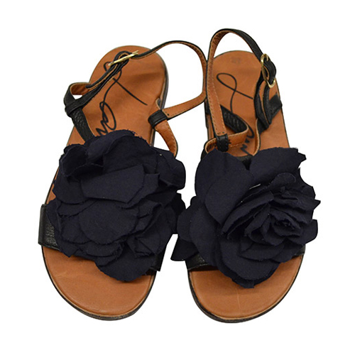 Lanvin Petite Spring Summer 2014 black sandals