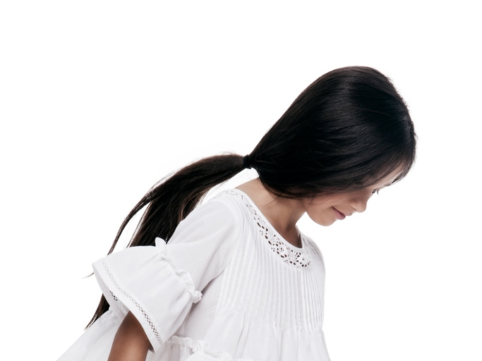 Lili Gaufrette adorable classic white line