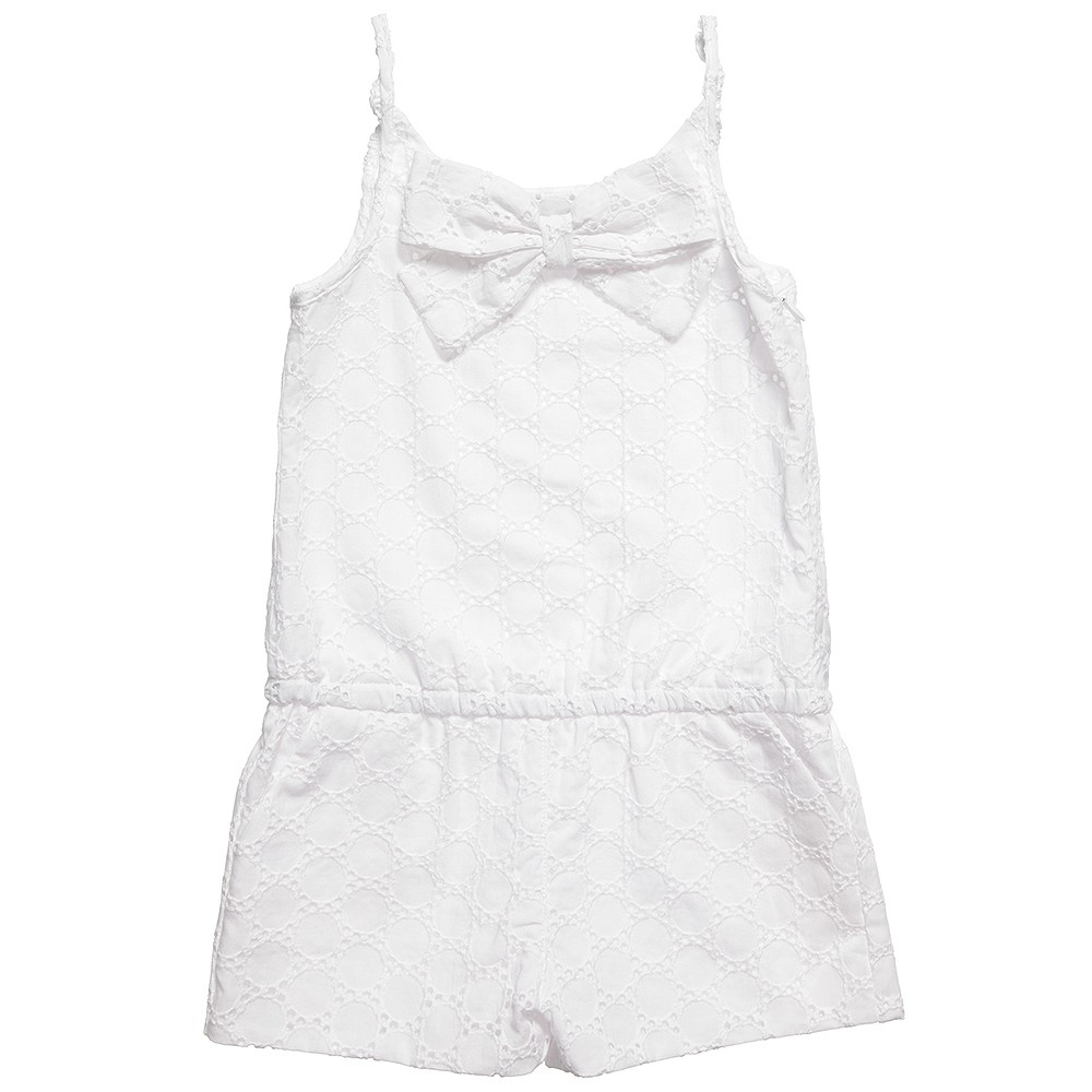 Lili Gaufrette spring summer 2014 white playsuit