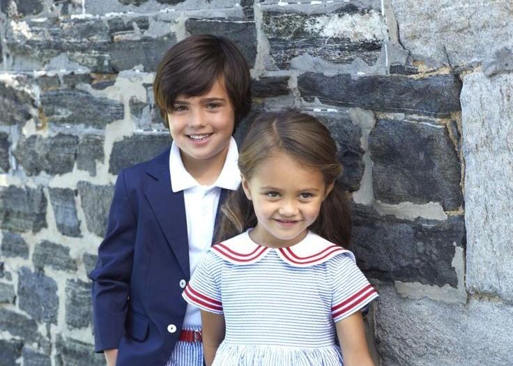Oscar de la Renta Children Spring Summer 2014