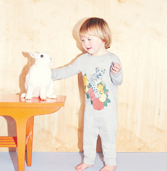 Stella McCartney Kids Spring 2014 in grey