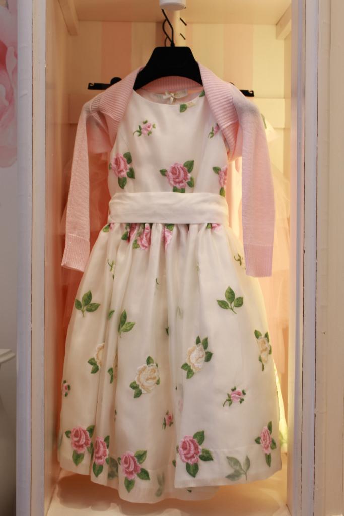 Monnalisa spring 2014, Etoile dress