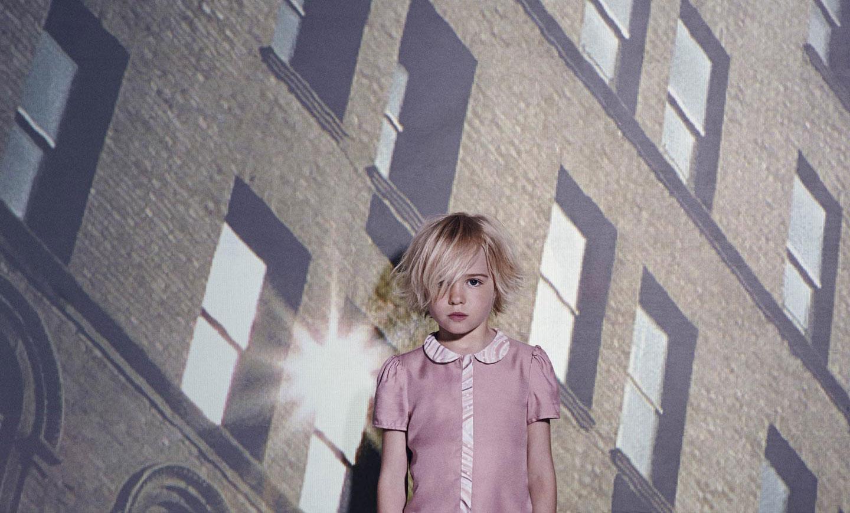 "Paul Smith Junior Spring Summer 2014, dusky-pink ""Felicia"" blouse"