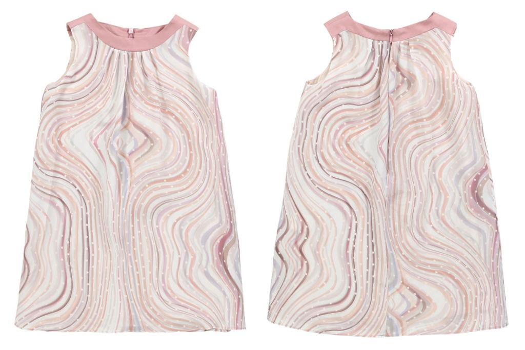 "Paul Smith Junior Spring Summer 2014, sleeveless ""Fairytale"" dress"
