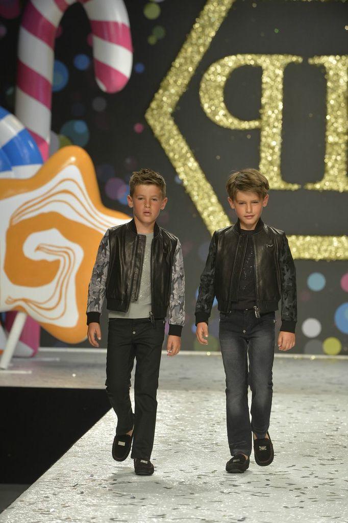 Philipp Plein Petite Spring Summer 2014, boy black outfits