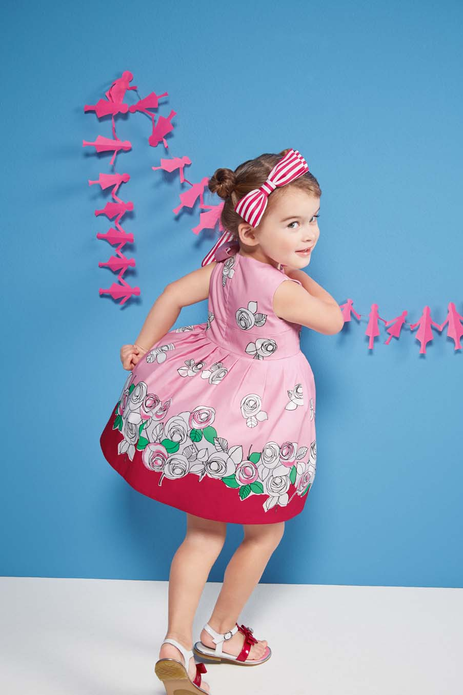 Simonetta Spring Summer 2014, pink sleeveless dress