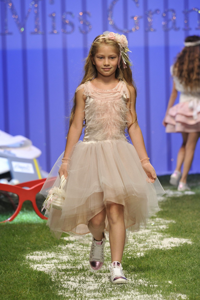 Pitti Bimbo, spring summer 2014, Miss Grant catwalk.
