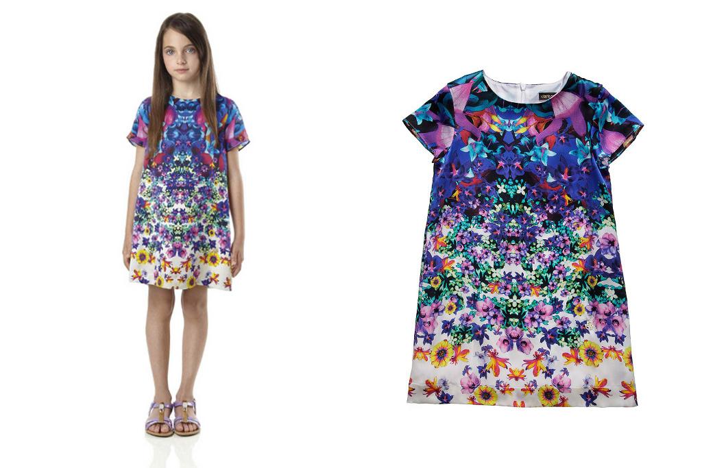Roberto Cavalli Junior Spring Summer 2014, Artemisia dress