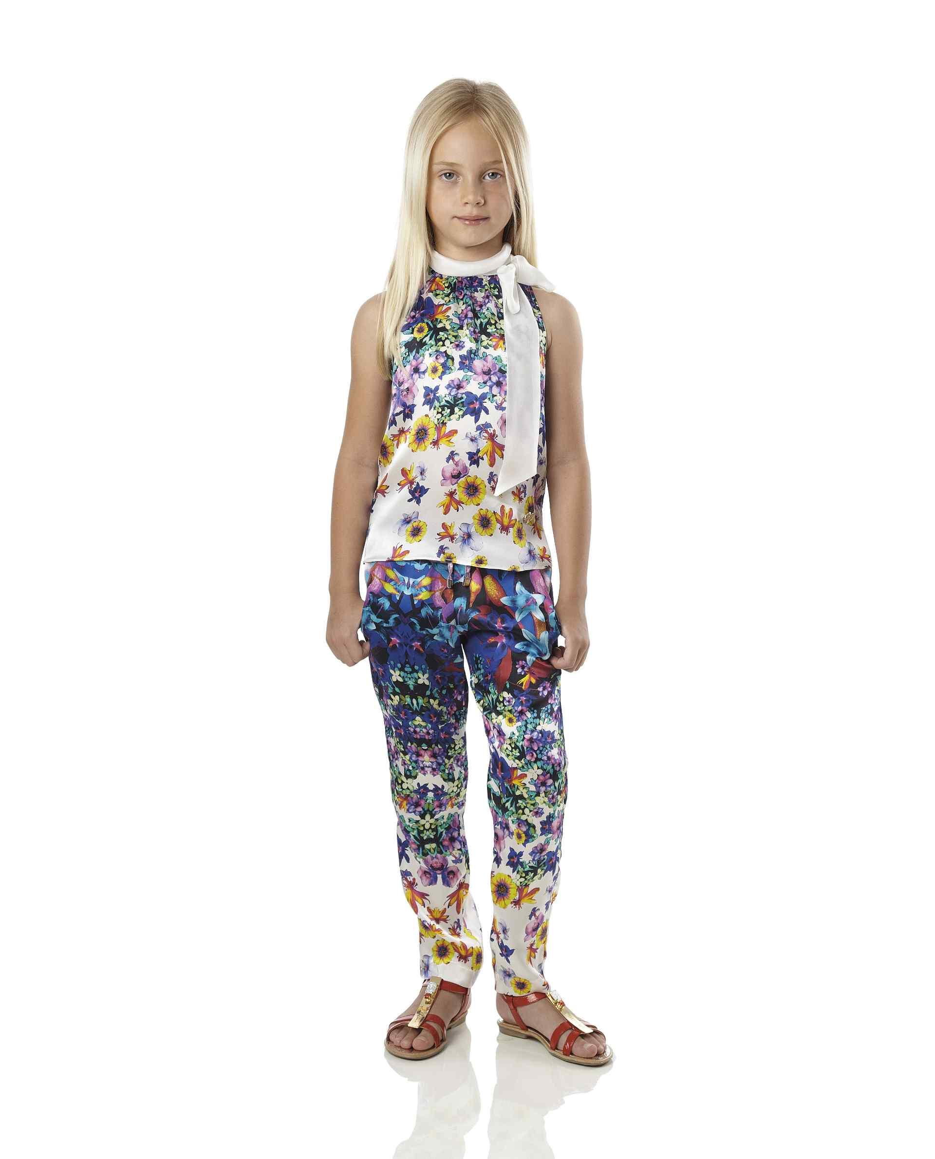 Roberto Cavalli Junior Spring Summer 2014, Artemisia tank top and trousers