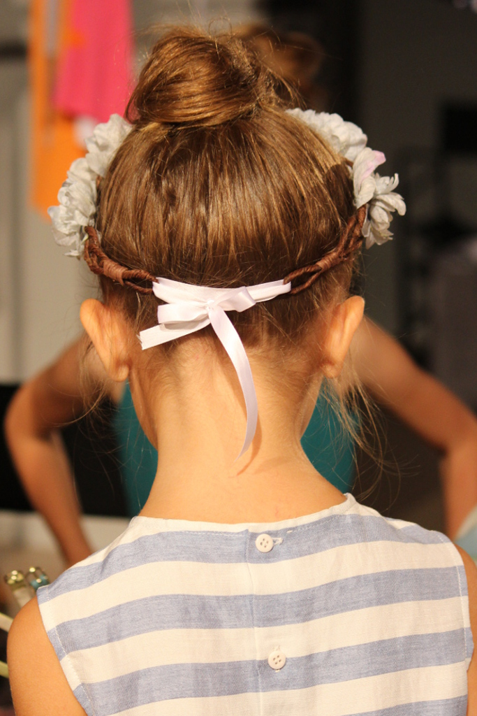 Il Gufo Spring 2015, hairband detail