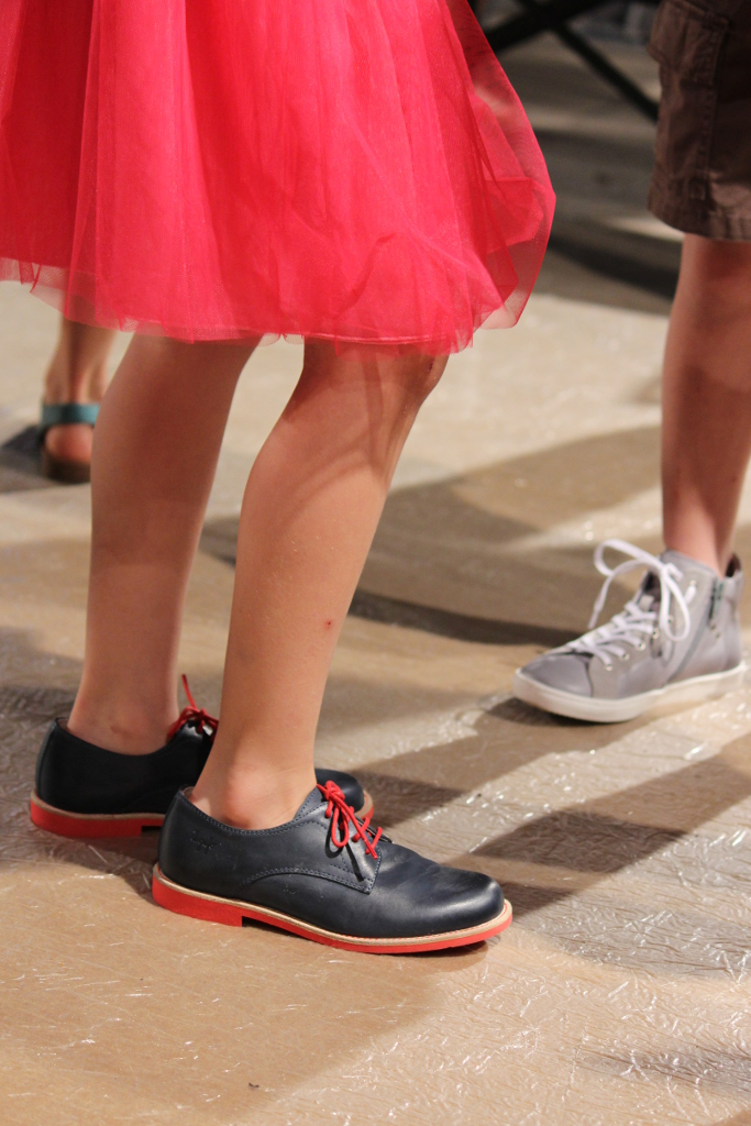 Il Gufo Spring 2015, navy blue shoes
