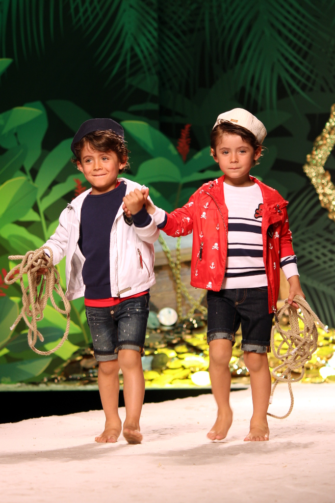 "Philipp Plein Junior Spring 2015, the""nautical"""