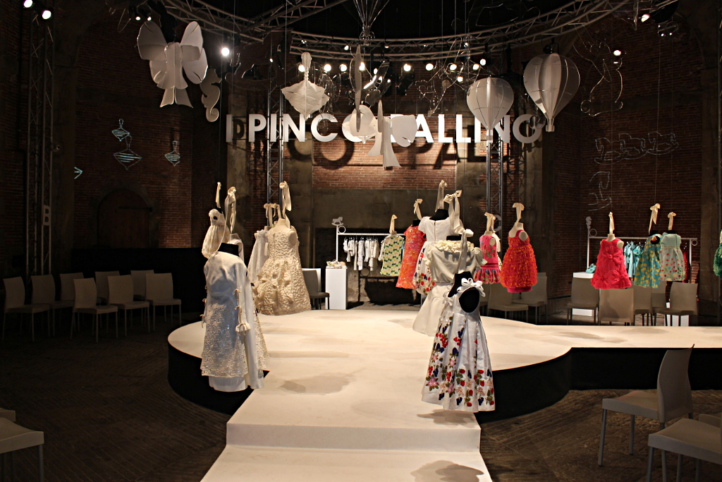 I Pinco Pallino spring 2015 stand at Pitti Bimbo 79