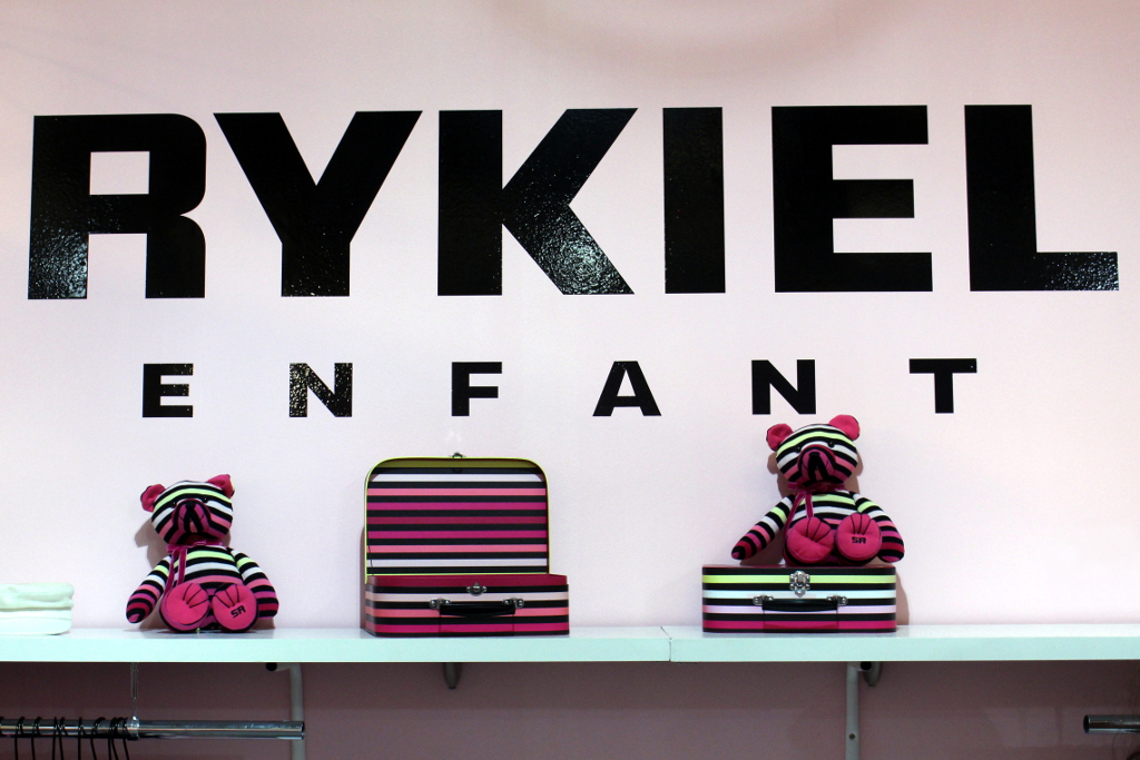 Rykiel Enfant Spring 2015, stripy teddy bears