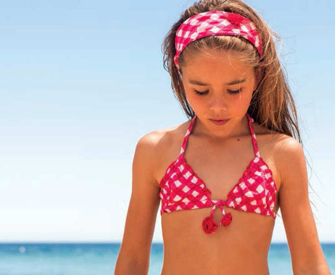 Archimède beach wear adorable looks for spring 2014
