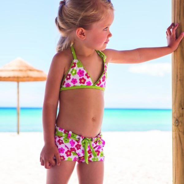 "Archimede spring 2014, ""Dotty flower"" bikini"
