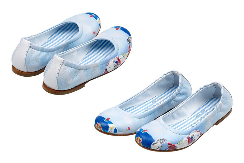 Simonetta spring 2014, Capri print shoes