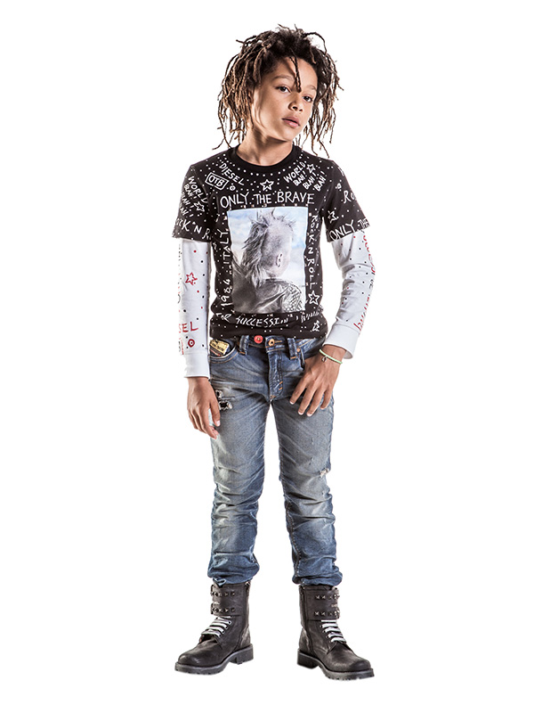Diesel Kids 30th anniversary capsule collection, look for boys