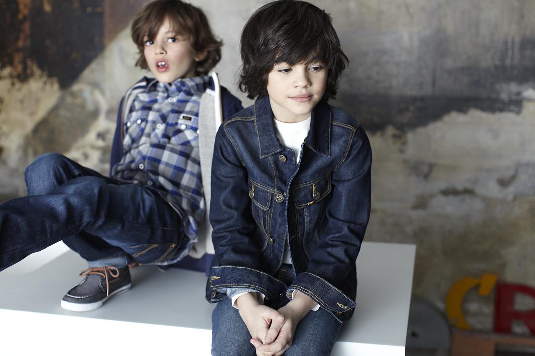 Lee kidswear winter 2014, boy denim looks