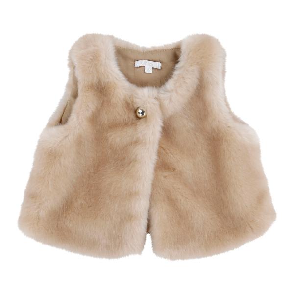 Chloé children's wear winter 2014 techno fur waistcoat