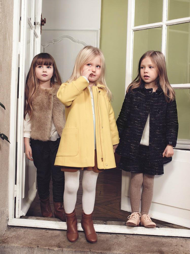 Chloé children's wear winter 2014 campaign