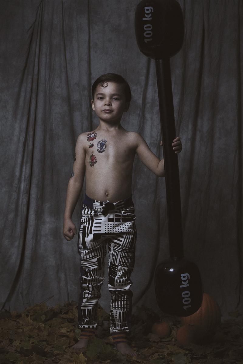Halloween kids costumes inspired by freak show fannice for Tattoo freak costume