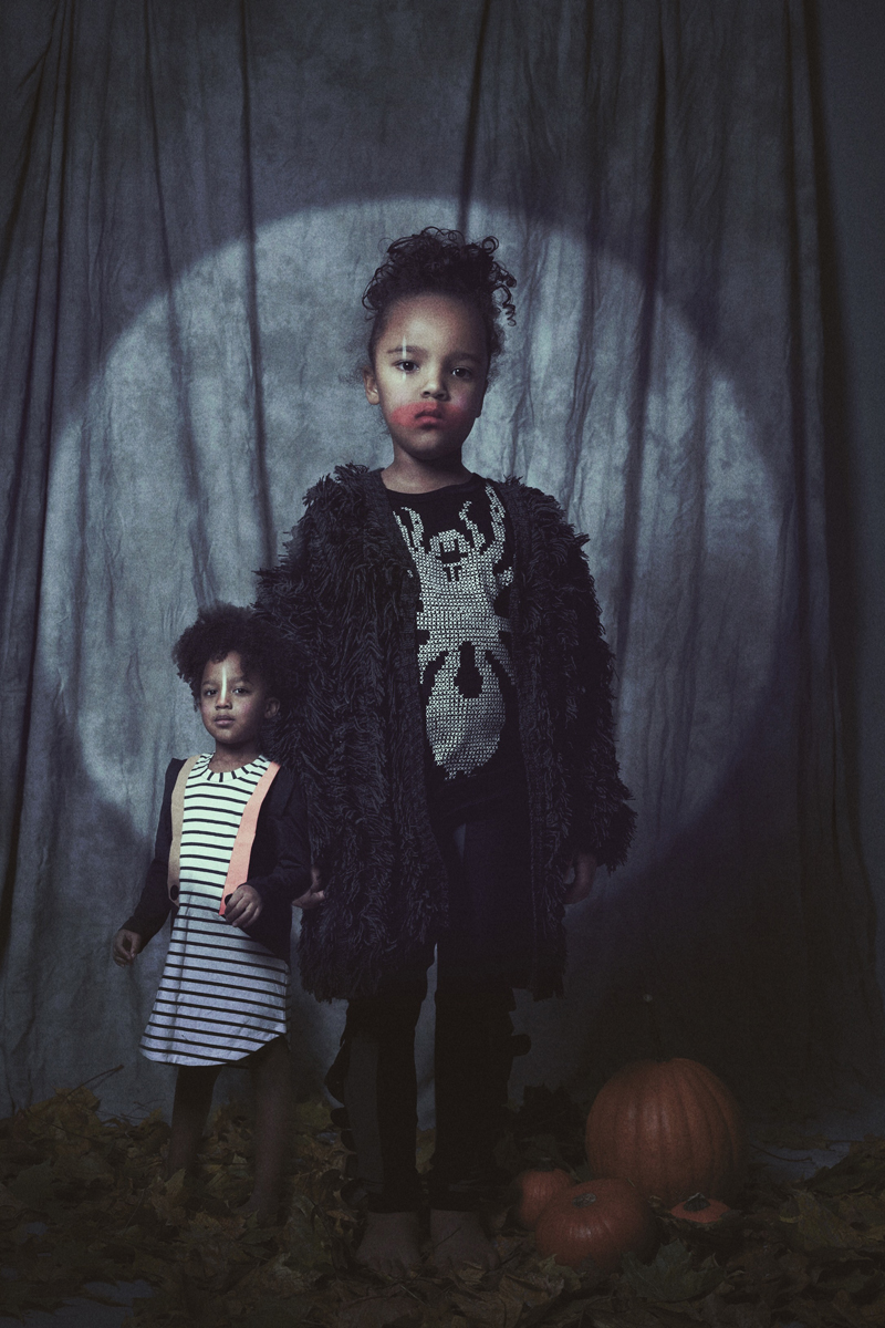 Halloween handmade kids costumes inspired by freak show