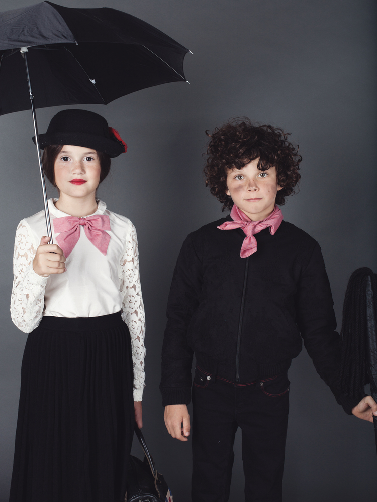 Halloween 2014 Mary Poppins kids costume