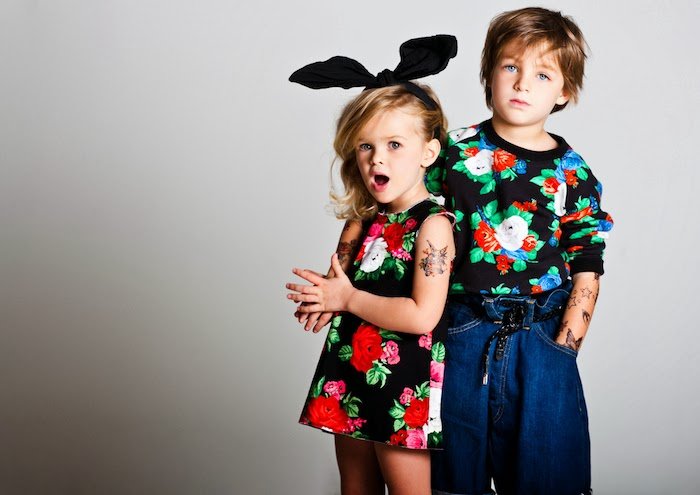 MSGM Kids winter 2014 advertising campaign