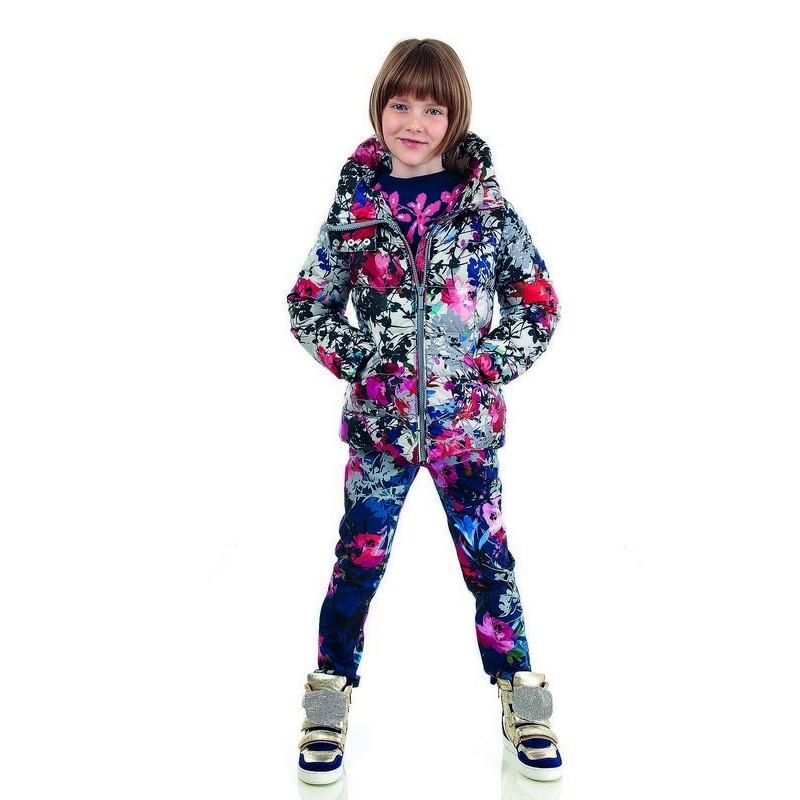 Simonetta winter 2014, floral total look!