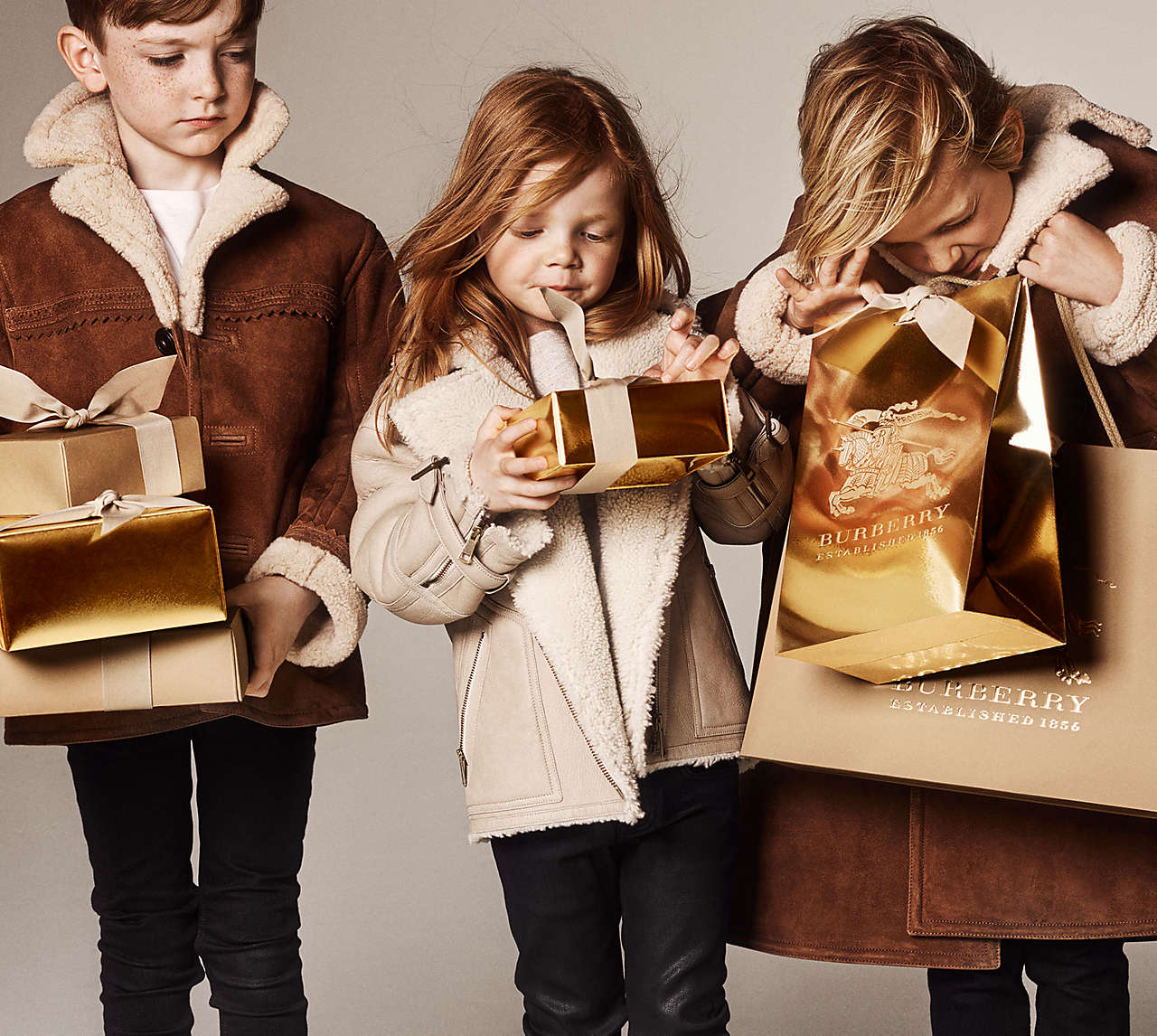Burberry with love for Christmas 2014 - Fannice Kids Fashion