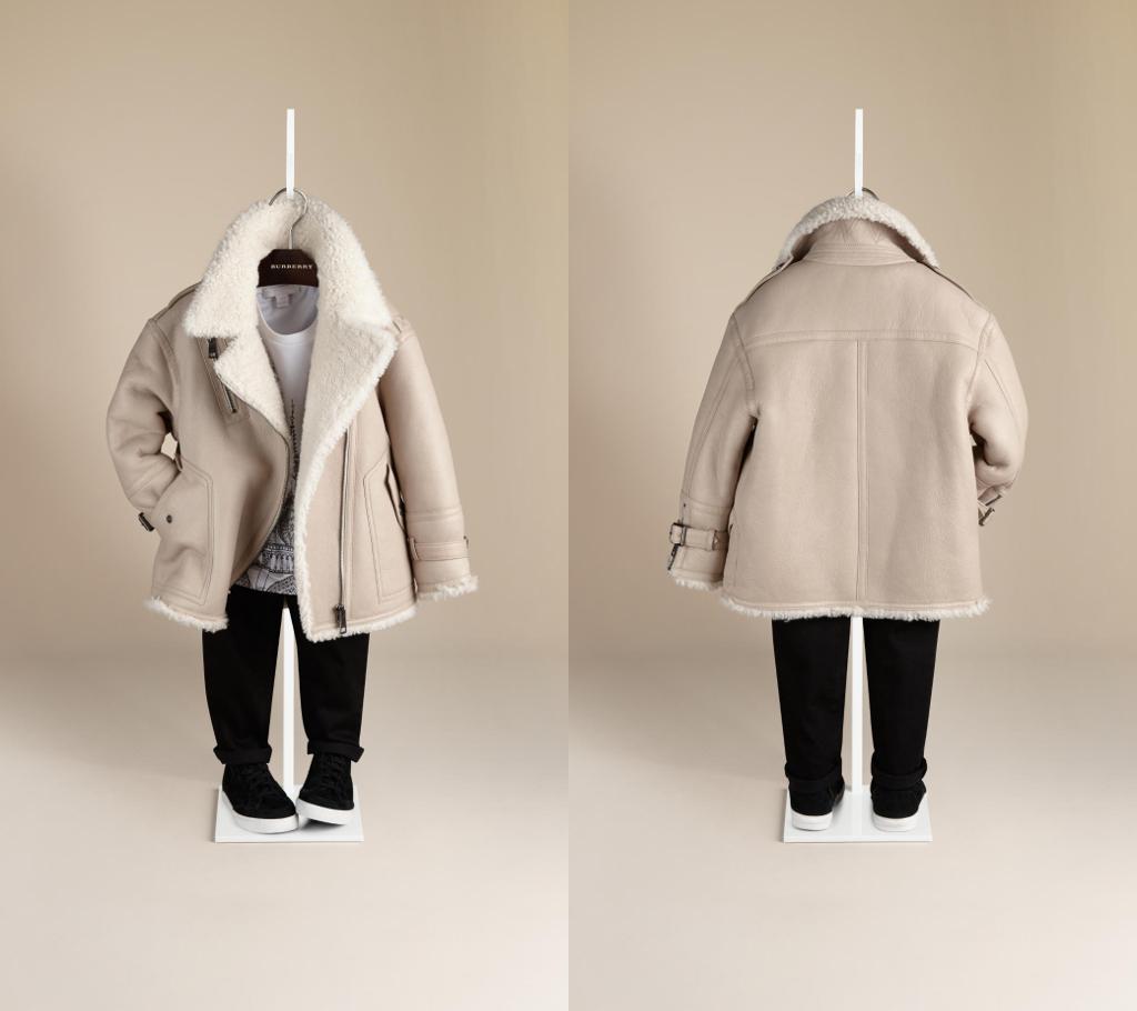 Burberry winter 2014 aviator jacket