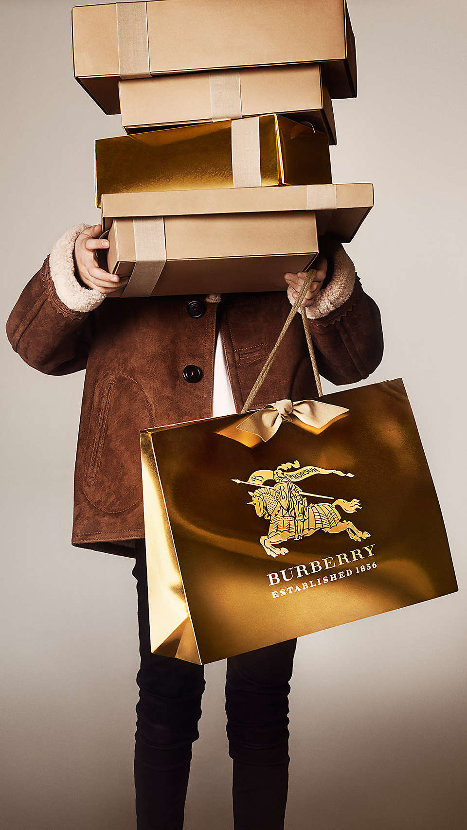 Burberry winter 2014 Christmas campaign