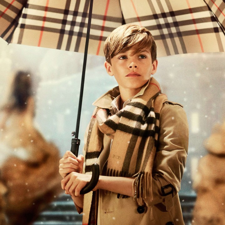 Burberry with love for Christmas 2014
