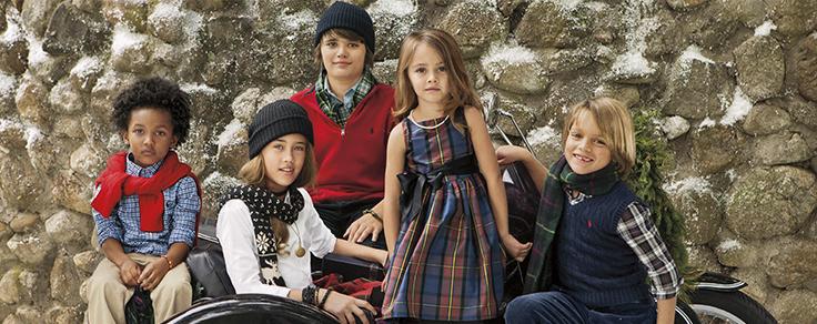 6c0a9eb71 Ralph Lauren holiday 2014 campaign - Fannice Kids Fashion