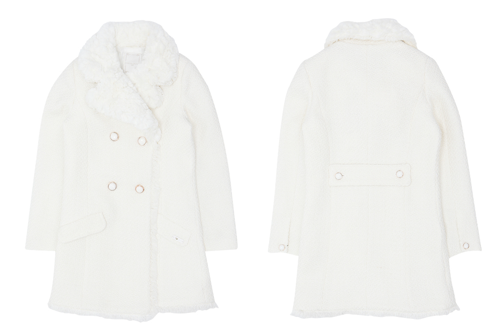 Silvian Heach Kids white coat