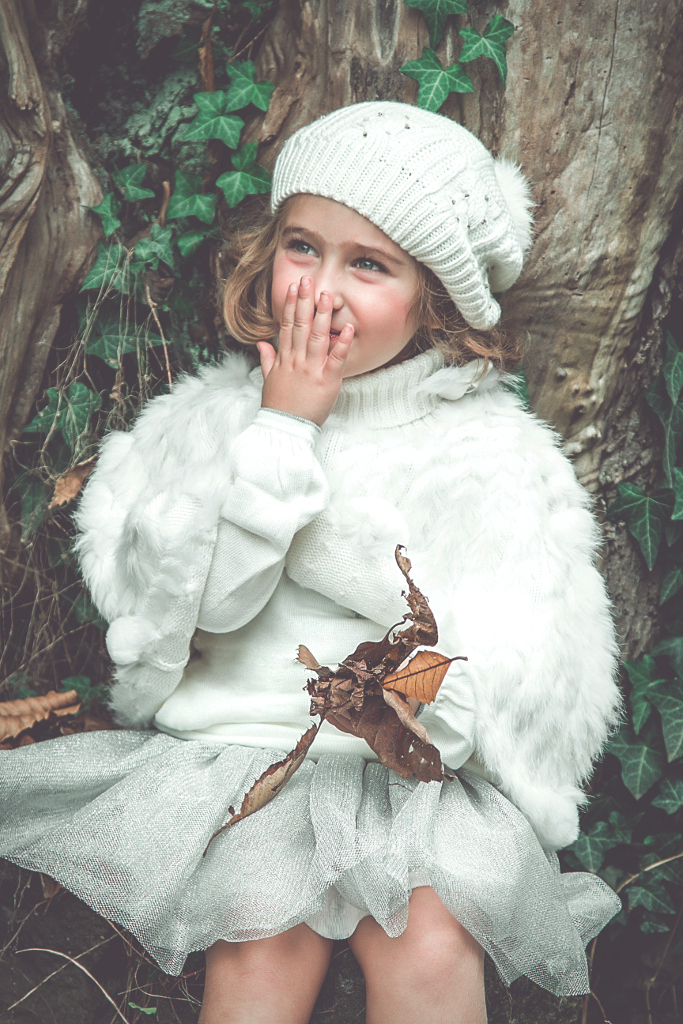 Silvian Heach Kids winter 2014 white and grey look