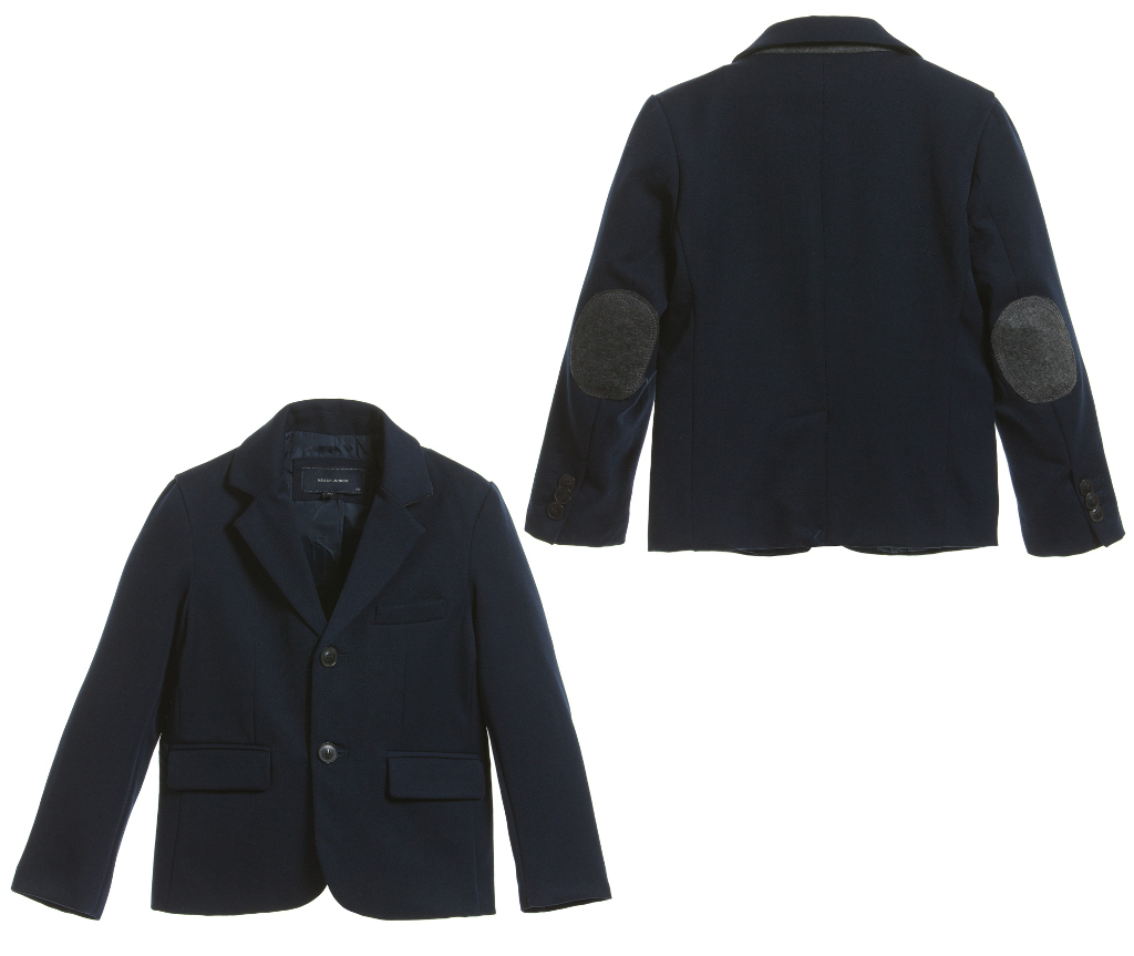 Silvian Heach Kids winter 2014 blue jacket