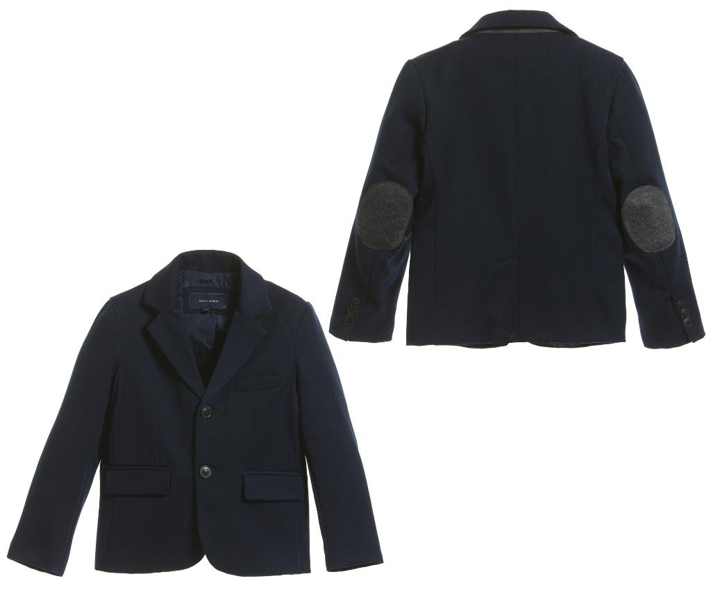 Silvian Heach Kids winter 2014 blue jacket