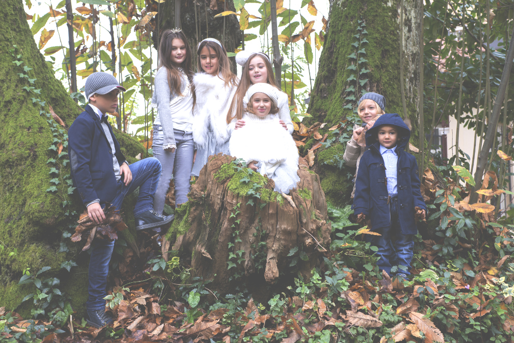 Silvian Heach Kids Christmas 2014 advertising campaign