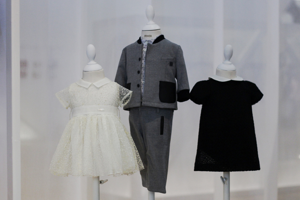 Fendi Kids, winter 2015 collection at Pitti Bimbo 80.