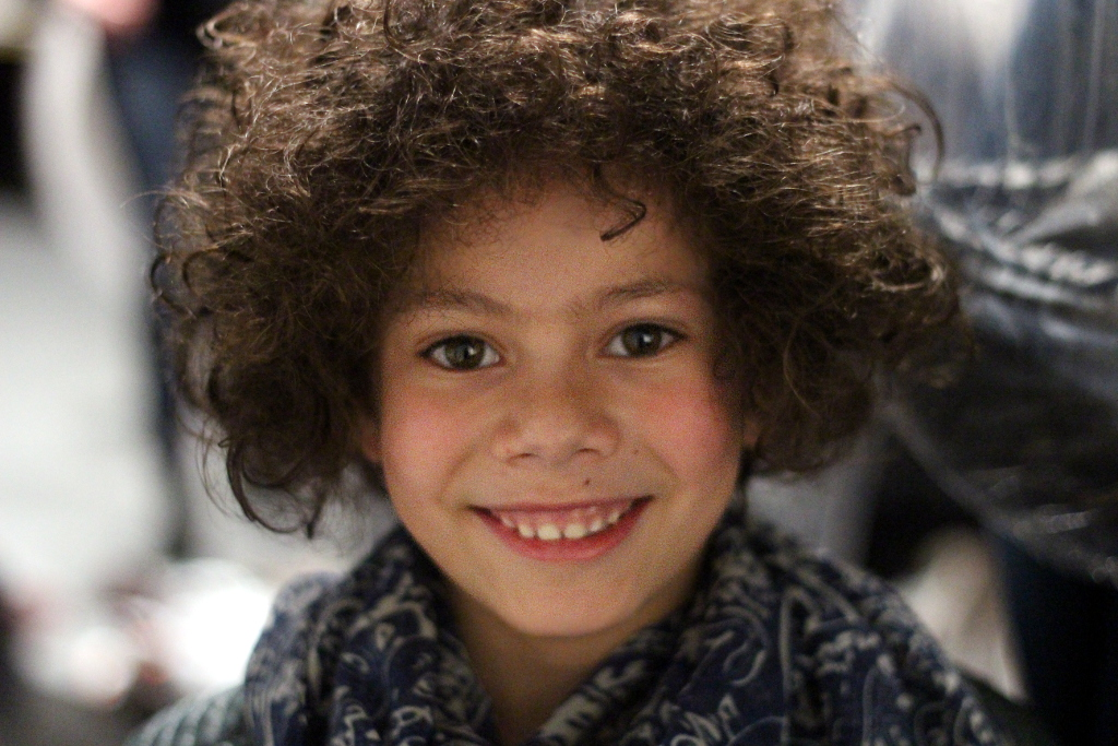 Sarabanda Winter 2015 backsage boy portrait
