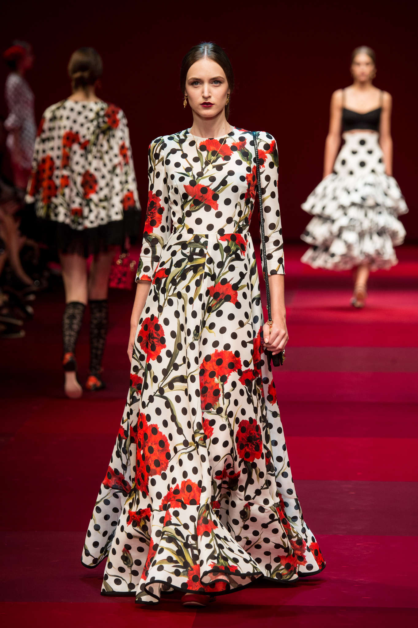 Milan Fashion Week spring Dolce and Gabbana fashion show
