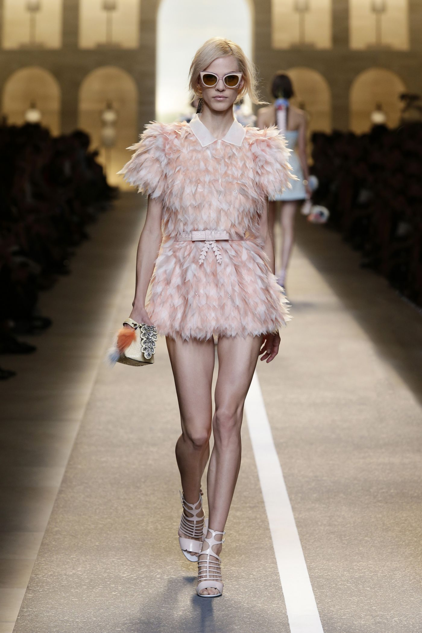 Fendi spring summer 2015 catwalk