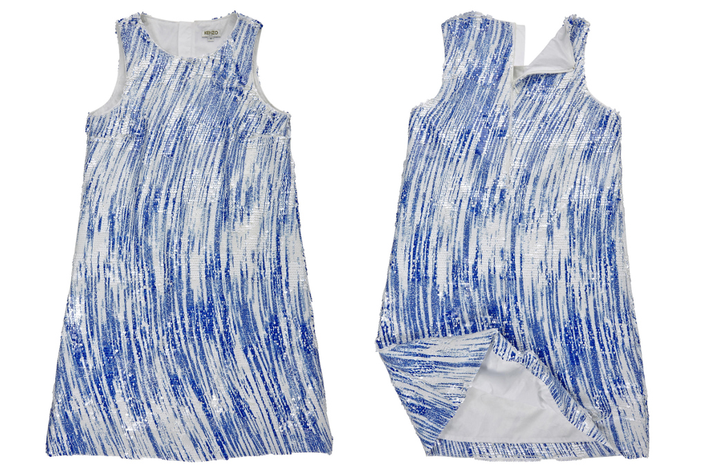 Kenzo Kids spring summer 2015, mini-me sleeveless dress