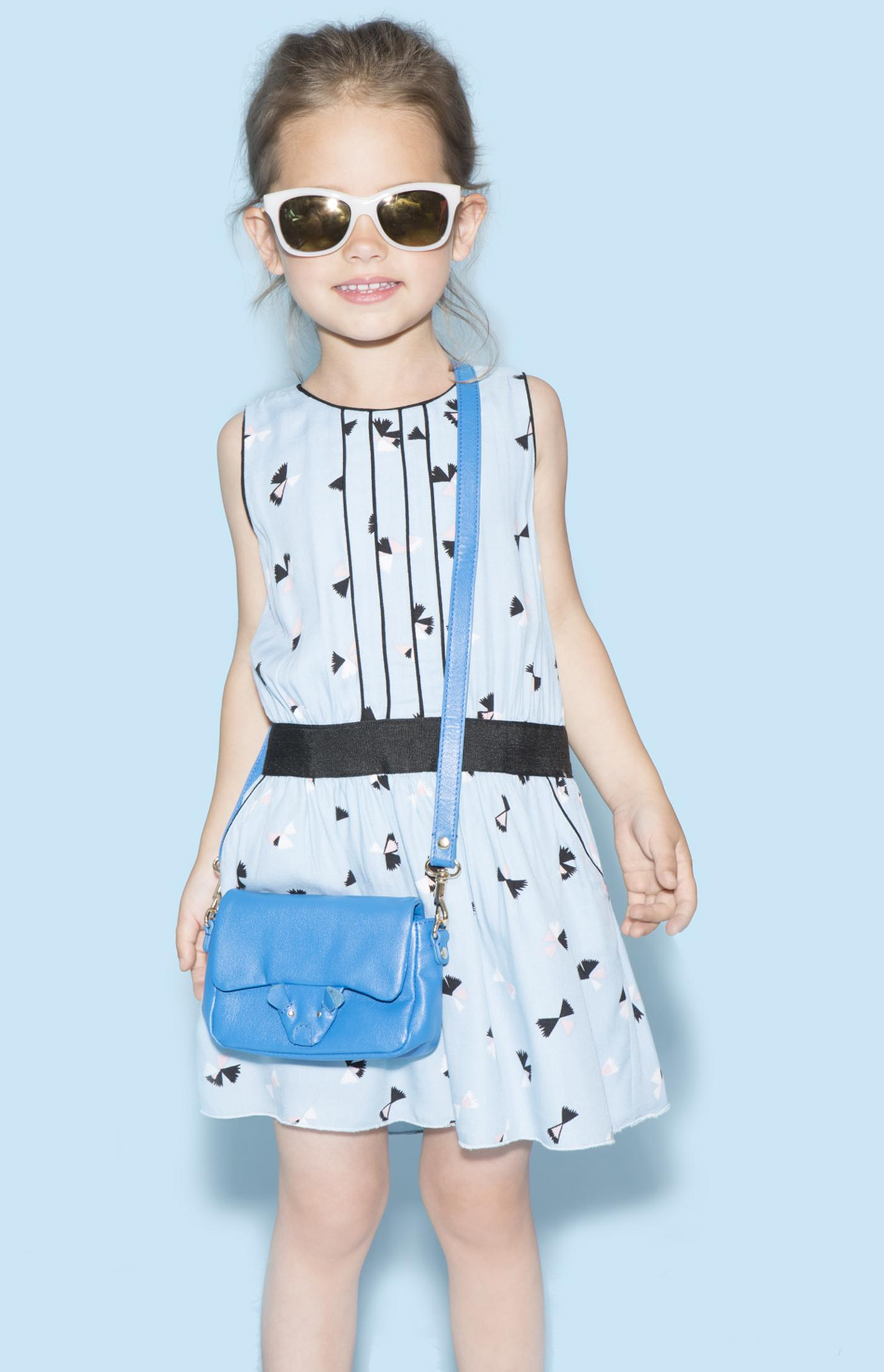 Little Marc Jacobs spring summer 2015 light blue dress